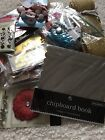 Lot of Christmas Scrapbook Embellishments Crafts