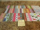 HUGE Lot  8 NEW 6x6 Assorted Scrap Booking Card Making Craft Paper No Doubles