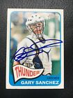 Gary Sanchez 2014 Topps Heritage Minors HOT SIGNED AUTO IP
