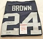 WILLIE BROWN AUTHENTIC SIGNED - OAKLAND RAIDERS JERSEY AUTOGRAPH - JSA