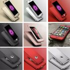 Hybrid 360° New Shockproof Case Tempered Glass Cover For Apple iPhone X 8 7 6 5S