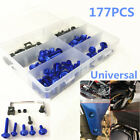 177Pcs Fairing Fender Fastener Kit Body Work Screw Bolts Washers for Motorcycle