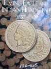 INDIAN HEAD PENNY ALBUM COMPLETE 1857 TO 1909 S