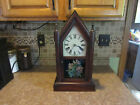 Antique Seth Thomas Walnut steeple clock 1865 1870