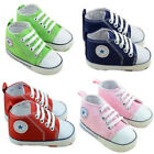 Pre Walker Toddler Anti skid Soft Canvas Sneakers Shoes For Unisex Baby