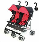 Infant Baby Double 3 Point Safety System and Reclining Seat Umbrella Stroller