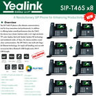 Yealink IPPhone SIP-T46S 8-Pack Optima HD USB Dongle PoE 16 VoIP accounts