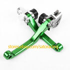 For Kawasaki KX65/80/85 KX100/500 KX250/450F 98-19 Pivot Brake Clutch Levers Set
