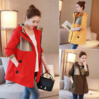 Hoodie Coat Jacket Maternity Peacoat Pnocho Outwear Cotton Warm Cute M/L/XL/2XL