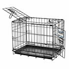 Precision Pet Two Door Great Crate Small 24x18x20 inches Cages Crates Dog
