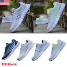 Men Sneakers Athletic Tennis Shoes Running Walking Training Sport Casual Summer