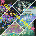 Solvent Resistant 4 Point STAR Shape You Choose Nail Art Acrylic Gel USA