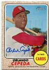 2017 Topps Heritage Real One Autographs #ROAOC Orlando Cepeda Auto - NM