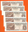 ONE USDA FOOD STAMP COUPON  $1.00  1997 B   E53719928J  MONTH CODE D GEM UNC