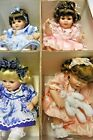NEW SET of 4 Marie Osmond Tiny Tots Alexis Ashley Baby Marie Olive May