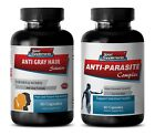 candida control ANTI GRAY HAIR ANTI PARASITE COMBO 2B papaya leaf extract
