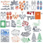 Merry Christmas Metal Stencil Embossing Cutting Dies From China 3D DIY Scrapbook