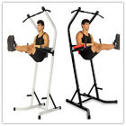 Power TowerExercise Mat Machine Equipment Workout Body Pull Up Station Stretch