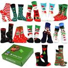 TeeHee Christmas Holiday 12 Pack Gift Socks for Women with Gift Box