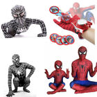 Boys Kids Boys Black Suit Spider Man superhero Party cosplay costume Christmas