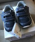 Genuine New Geox Respira Toddlers Sneakers Shoes Navy White Size US 65