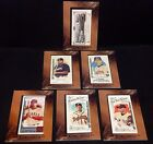 2015 Allen  Ginter 10th Anniversary LOT of  6  BUYBACK Framed MINI Cards RARE