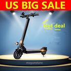 2017 Hot 8 350W Adult 2 Wheels Electric Scooter Foldable Black US SELLER BP
