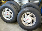 91 94 Oldsmobile Bravada 15x7 Stock Wheels  Tires Rims No Shipping