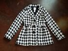 Candies sz L peacoat black white houndstooth