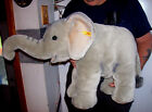Steiff Button in Ear Large Elephant Trampili 17 x 26 Plush Stuffed Animal