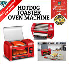 Hot Dog Roller Toaster Oven Sausage Steamer Grill Throwback Buns Warmer Cooking