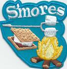 Girl Boy Cub SMORES Blue Campfire Fun Patches Crest Badges SCOUT GUIDE SMores