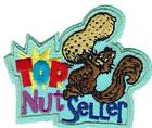 Girl TOP NUT SELLER CAN Fun Patches Crests Badges SCOUTS GUIDES product squirrel