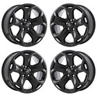 18 FORD EDGE BLACK WHEELS FACTORY OEM 2011 2012 2013 2014 SET 4 3848 EXCHANGE