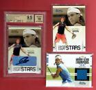 RAFAEL NADAL 2006 ACE Authentic Grand Slam CC Star BGS 9.5 Auto10 + 2 bonus cds