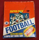 1980 Topps Football Super Cello Box 24 packs of 28 cards each No Reserve auction