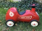 Vintage Classic Red Radio Flyer 8 Race Car Scooter