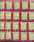 Lot 20 diff 1990 Score Magic Motion The MVPs mini cards many Hall of Famers