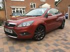 LARGER PHOTOS: FORD FOCUS 2.0 CC 2 TURBO DIESEL CONVERTIBLE 43,000 MILES FSH.