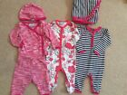 Coccoli Baby Girls 3 Months Lot 6 Pieces Hat Blanket EUC
