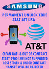 Samsung Focus Flash UNLOCK CODE ATT ATT ONLY OUT OF CONTRACT FACTORY UNLOCK