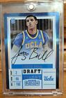 2017-18 Contenders Draft Lonzo Ball On Card Rookie Auto Variation 16 25 SSP RC