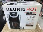 Keurig Hot 2.0 K200 Plus Series Single Serve Plus Coffee Maker Brewer Black !!
