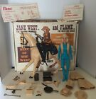 Marx Toys 1960S Jane West and Flame Best of the West w box 99 Complete NICE