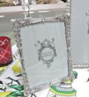 Olivia Riegel Waldorf Crystal Deco 5 x 7 Photo Frame NEW In Box