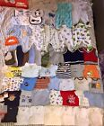 Newborn Baby Boy Clothes Lot