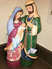 JIM SHORE HOLY FAMILY Christmas Traditions MARY JESUS Nativity LARGE FIGURINE