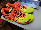 Mens Saucony Zealot ISO Fit 2 II Orange Running Fitness Shoes Size 11 MINT A+