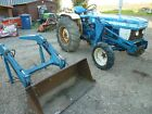 Ford 1910 compact tractor with front loader