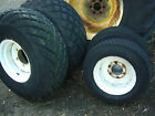 Compact mini tractor turf grass tyres and wheels Kubota Iseki Ford Etc